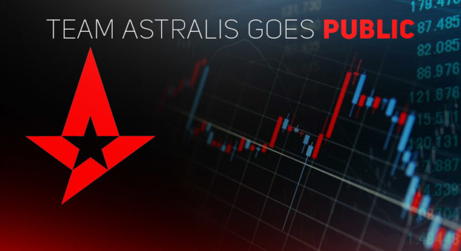 Astralis Group becomes a public company