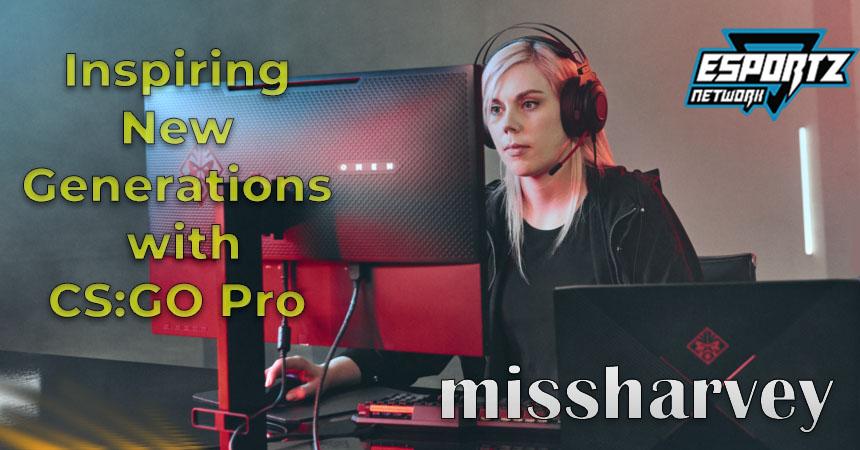 "Inspiring New Generations: Interviewing CS:GO pro Stephanie ""missharvey"" Harvey"