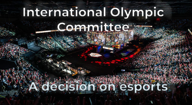 Olympic Committee details new plan for esports