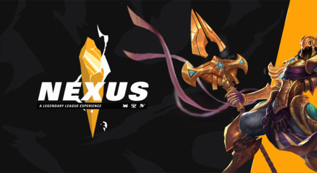 The Nexus, a League of Legends event in Middle East