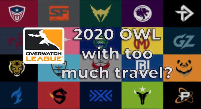 2020 OWL burdens teams with big travel costs