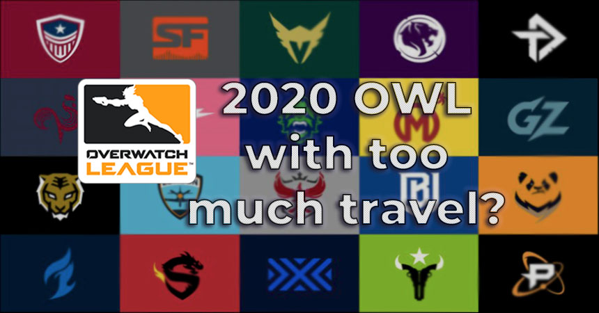 2020 OWL burdens teams with big travel costs