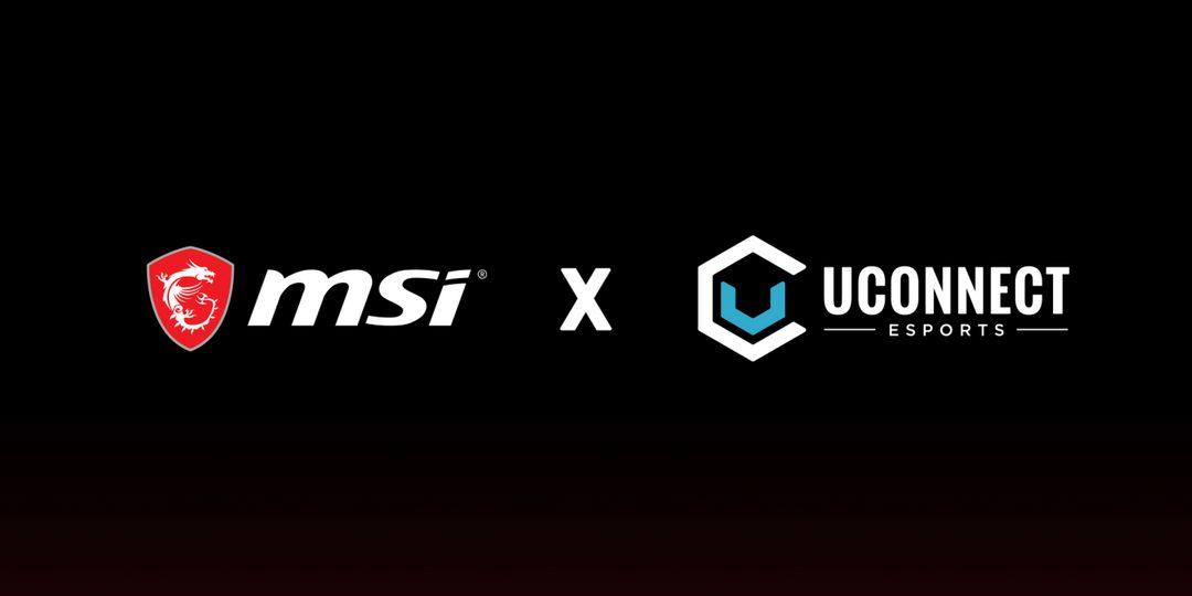 Uconnect Esports s'associe à MSI pour Collegiate Rising