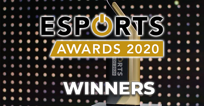 The Esports Awards 2020 Winners   Esportz Network
